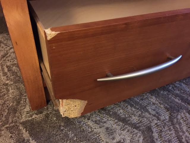 Drawer Damage A ...