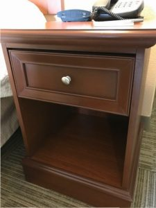 Superieur Weu0027re Touching Up The Furniture At The 72 Room Hampton Inn U0026 Suites In Murray  KY. This Furniture Finish Is Toner Base Rather Than Stained.
